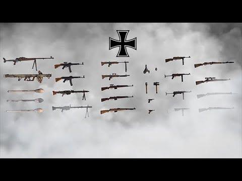Пехотное оружие Нацисткой Германии во время второй мировой войны!