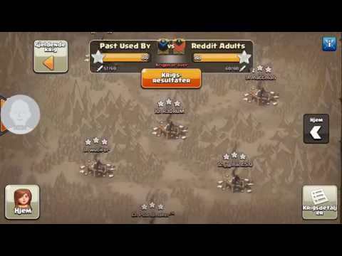 Clash of Clans | WE ALMOST WON AGAINST AN ENGINEERED CLAN | Past Used By vs. Reddit Adults