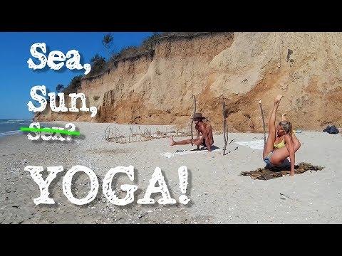 пляжимся на море в Лебедёвке @4K remake