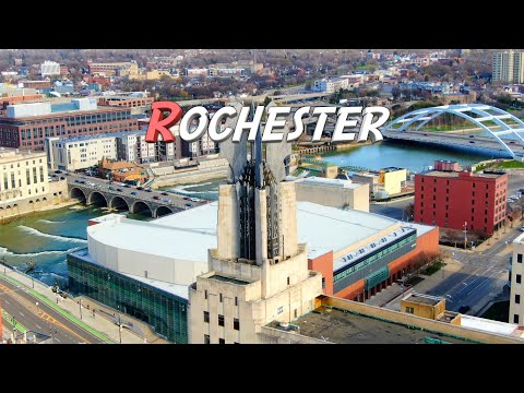 rochester,-new-york-🇺🇸- 4k -aerial-drone-footage