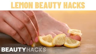 6 GENIUS Lemon Beauty Hacks Every Girl Needs To Know   Beauty Hacks