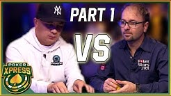 Daniel Negreanu vs. JC Tran: An exciting heads-up poker battle! - Part 1