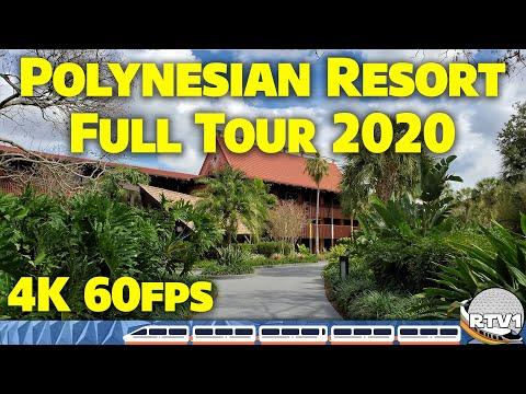 Disney's Polynesian Village Resort | Full Tour 2020 - 4K 60fps | Walt Disney World