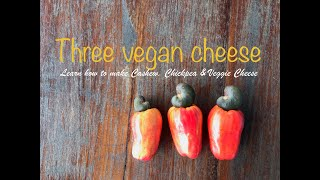 """Three """"Dairy Free"""" Cheese Sauces"""