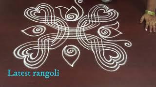 latest padi kolam rangoli design  || easy & simple padi kolam rangoli designs