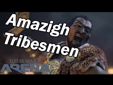 Total War Arena - Carthage Cavalry Review - Hasdrubal - Tier 5 - Amazigh Tribesmen Guide