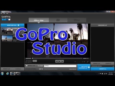 GoPro Studio Beginner Tutorial - Getting Started the basics