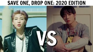SAVE ONE, DROP ONE KPOP SONG | 2020 Edition