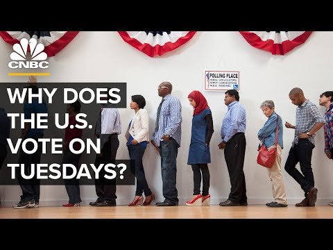 Why Does The U.S. Vote On Tuesdays?