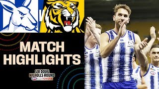 Shaw at the helm   North Melbourne v Richmond Highlights   Round 11, 2019   AFL