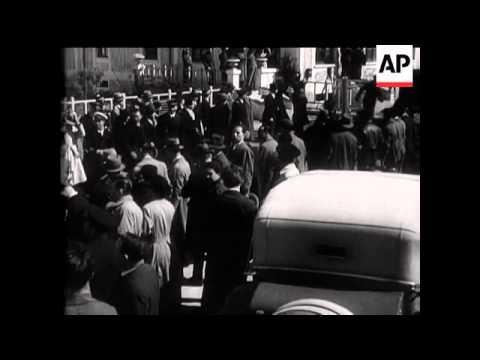 Mr MacDonald Visits Mussolini