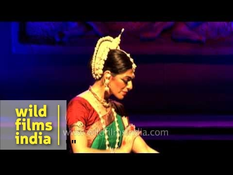 Anandini Dasi From Argentina Performs Odissi Dance Form - Delhi
