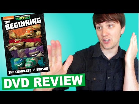 [DVD REVIEW] Teenage Mutant Ninja Turtles Season 1 Unboxing | Rotoscopers