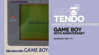 Gintendo Stream #041: Game Boy 30th Anniversary stream