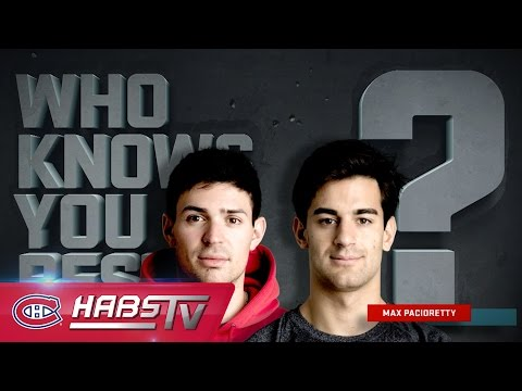 Who Knows You Best? Pacioretty vs. Price