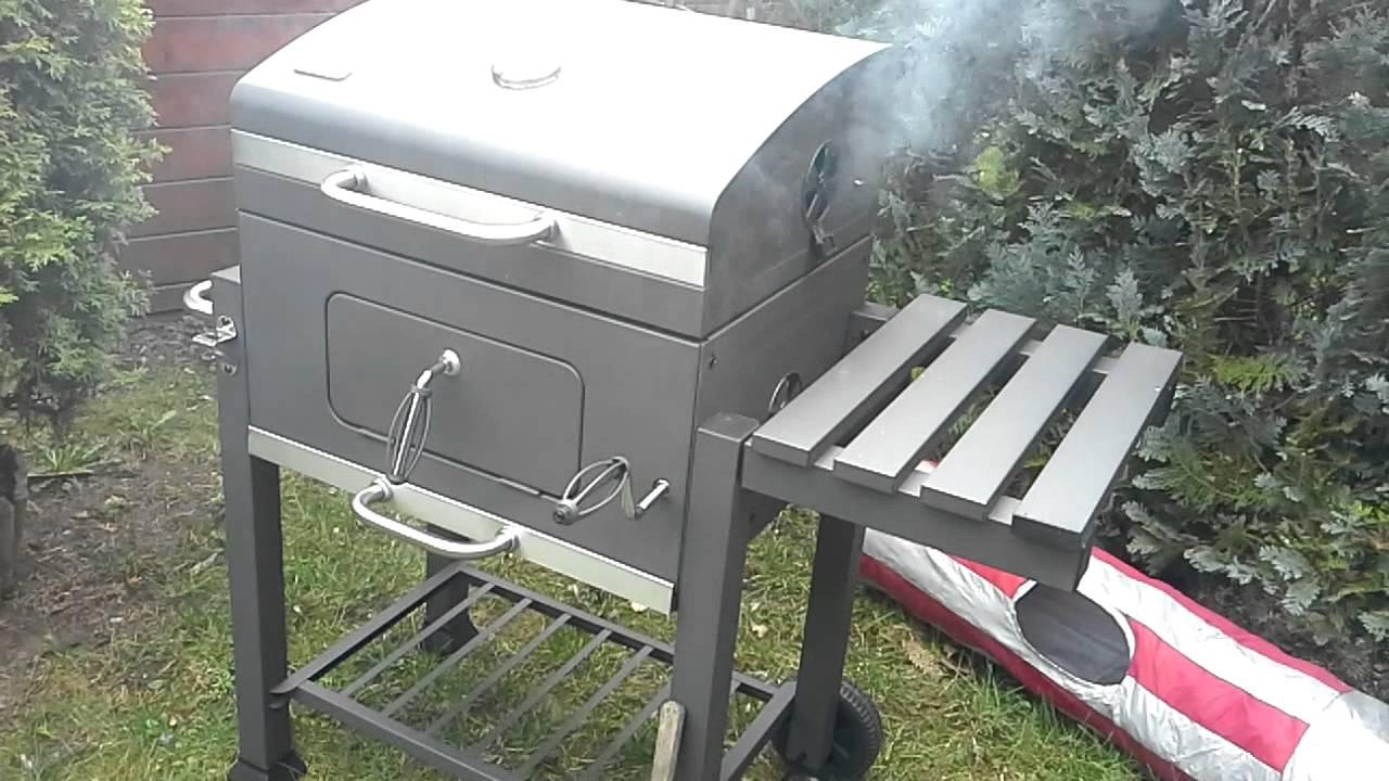 El Fuego Holzkohlegrill Ontario Test : El fuego portland der pulled pork ofen unboxing youtube