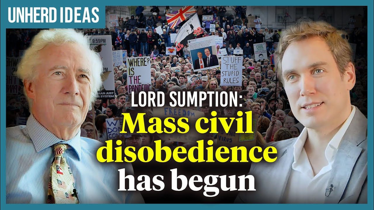 Lord Sumption: mass civil disobedience has begun