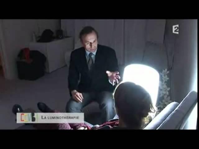 La luminotherapie testée sur France2