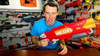 The NERF GUN GAME 7.0 Blasters!!!