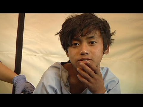 Woman and teenage boy rescued five days after Nepal quake