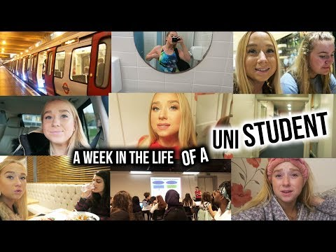 WEEK IN THE LIFE OF A UNIVERSITY STUDENT