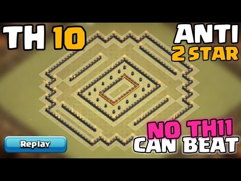 Town Hall 10.5 War/Trophy Base | Anti Air | TH10.5 (Extra Walls) Anti 2 Star Base | Clash Of Clans