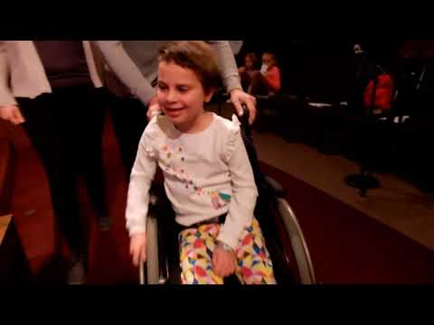 Sophia visits Cherokee Hills Baptist Church