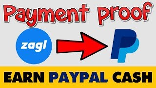 Zagl Live Withdrawal Payment Proof 2019   Paypal Money Earning   Link Shortener