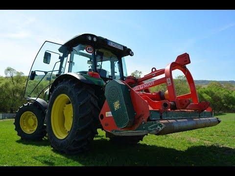 Young farmers ►  mulching ► JOHN DEERE 5100M ► VOGEL NOOT ► SHR Východ team