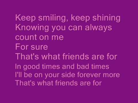That's What Friends Are For..., by, Dionne Warwick, Stevie Wonder, Gladys Knight, and Elton John.mp4