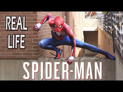 Spider-Man PS4 In Real Life (Building Climb, Flips, Public Reactions)