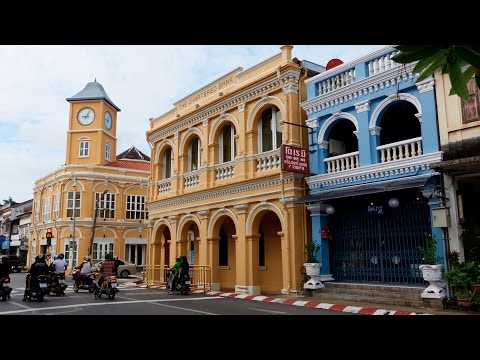 Wandering Phuket Old Town