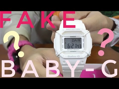FAKE TOKYO | Baby-G 20th Anniversary Special Collab Watch Unboxing