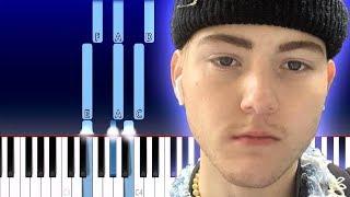 Trevor Daniel - Falling (Piano Tutorial)