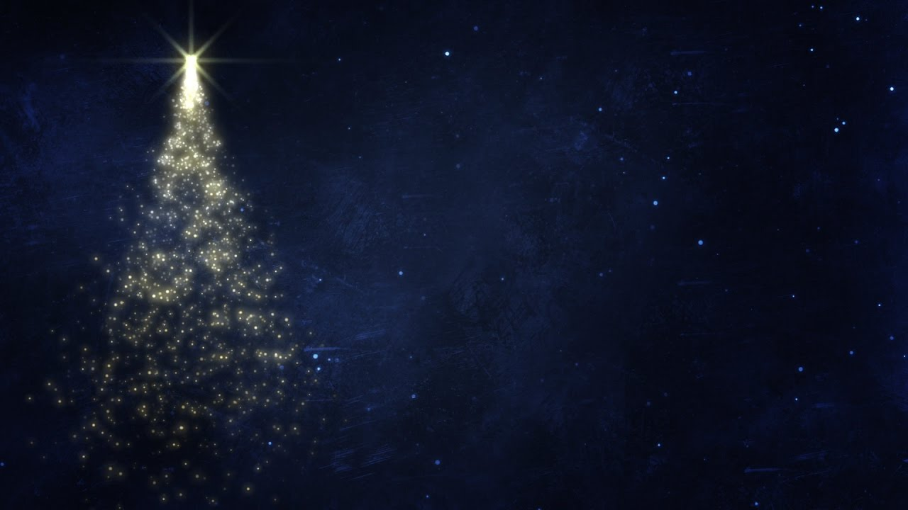 Christmas Background Hd.Glittery Spinning Christmas Tree Hd Video Background Loop