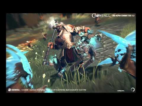 Crowfall pre-alpha 1st look Ranger gameplay and Avatar and vessels