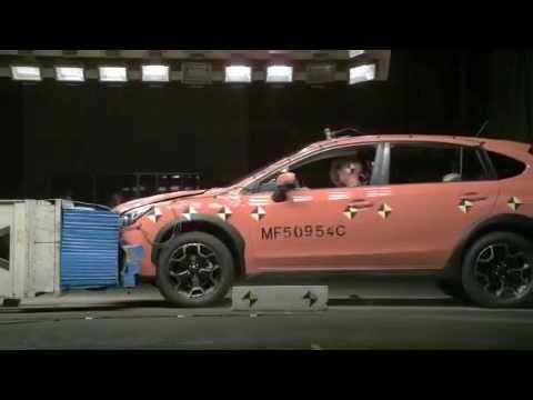 Crash Test SUBARU XV  YouTube