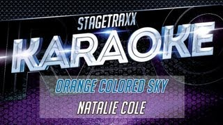 Natalie Cole - Orange Colored Sky (Karaoke)