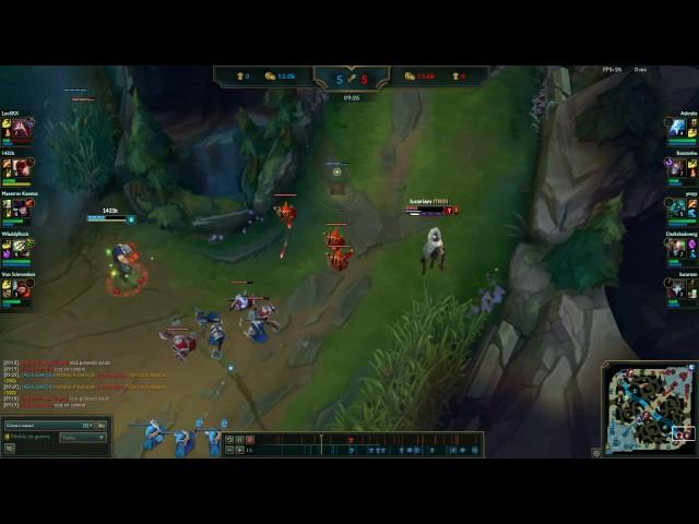 Lee sin Q+ smite minion + kill