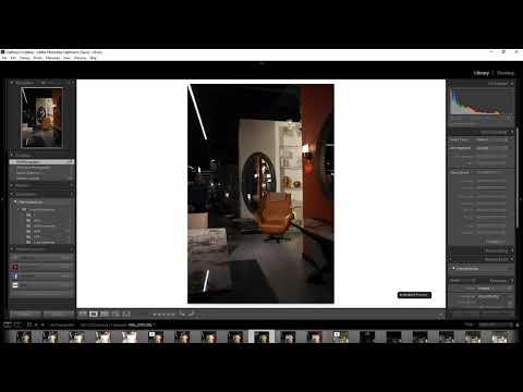 Имитация студийного света с помощью одной вспышки в интерьерной фотографии