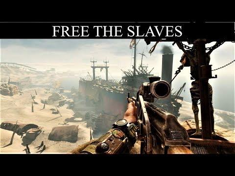 Metro Exodus: Free The Slaves (No Kills) - The Caspian Desert