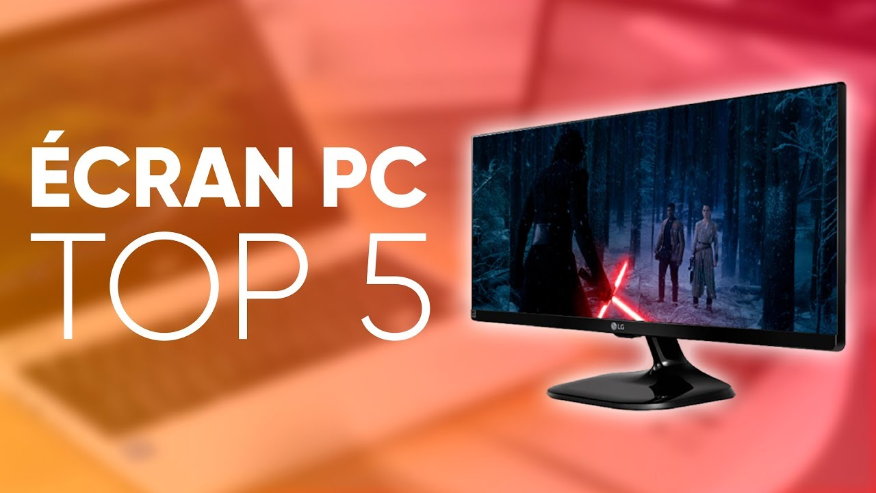 Top5 meilleur cran pc 2018 youtube for Meilleur ecran pc 2016
