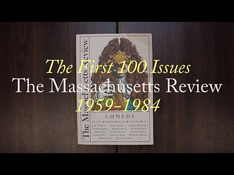 The Massachusetts Review: The First 100 Issues