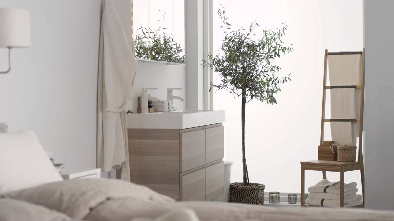 ikea schlafzimmer mit wellnessfaktor youtube. Black Bedroom Furniture Sets. Home Design Ideas