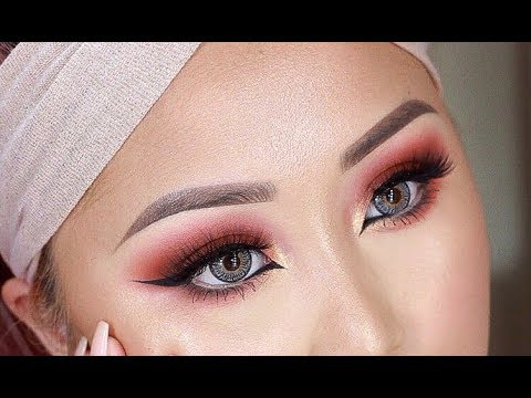 Easy Warm Smokey Eye Makeup Tutorial