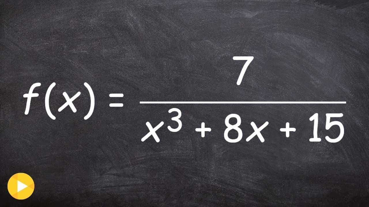 How To Find The Domain Of A Rational Function