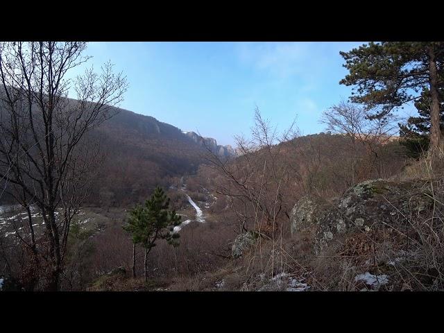 Iarnă caldă la Cheile Tureniului (nature mood)