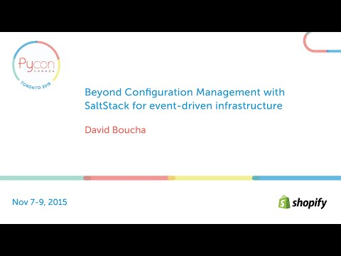 Beyond Configuration Management with SaltStack for event-driven infrastructure