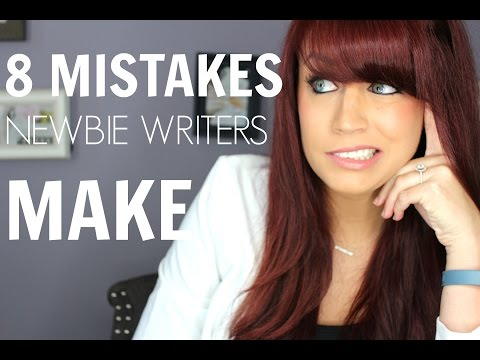 8 Mistakes New Writers Make