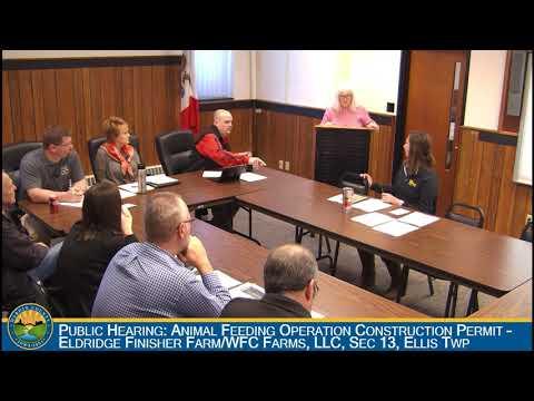 Hardin County Board of Supervisors Meeting 3-12-2018